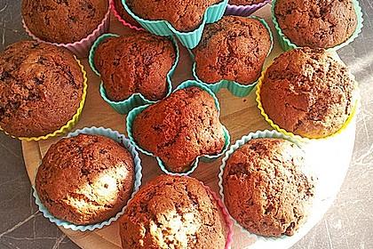 Bananen Nutella Muffins 19