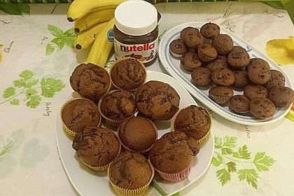 Bananen Nutella Muffins 8