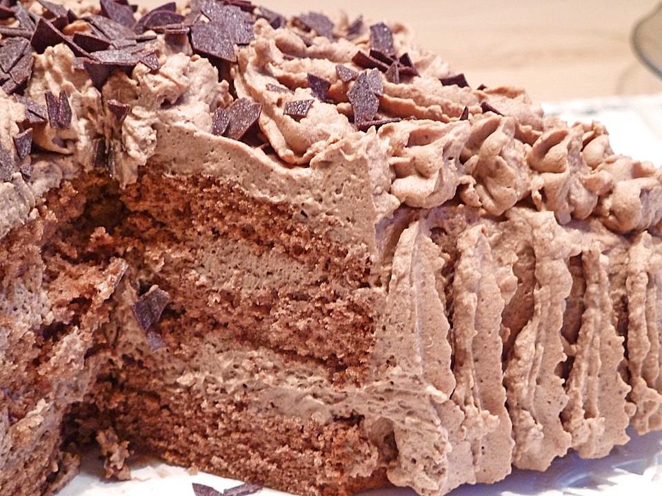 Torte mit schlagsahne einfrieren