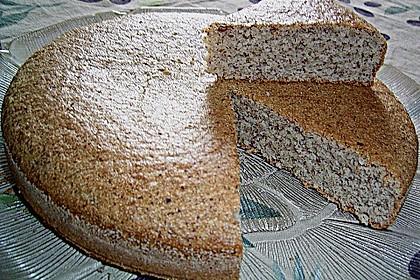 Grießkuchen mit Mandeln 0