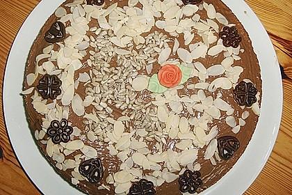 Grießkuchen mit Mandeln 2