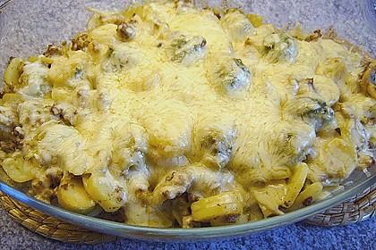 Kartoffel - Rosenkohl - Hack - Auflauf 1