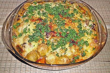 Kartoffel - Rosenkohl - Hack - Auflauf 11