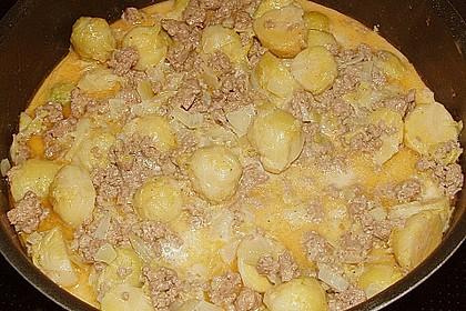 Kartoffel - Rosenkohl - Hack - Auflauf 13