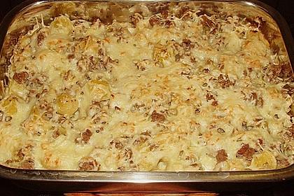 Kartoffel - Rosenkohl - Hack - Auflauf 9
