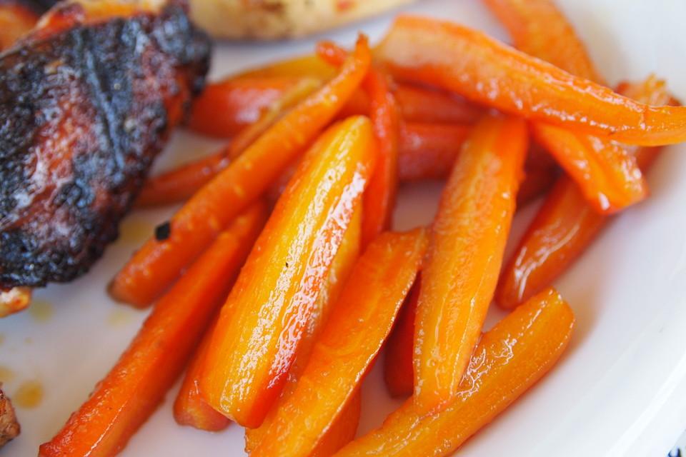 Glasierte m hren von judith - Karotten kochen ...