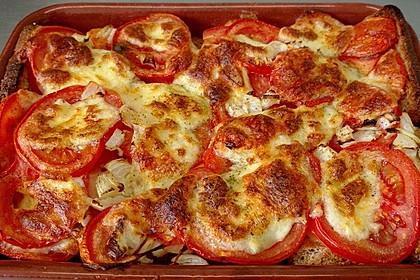 Tomaten - Mozzarella - Auflauf 4
