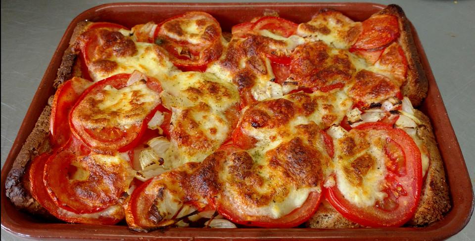 Tomaten - Mozzarella - Auflauf