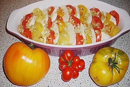 Tomaten - Mozzarella - Auflauf 11