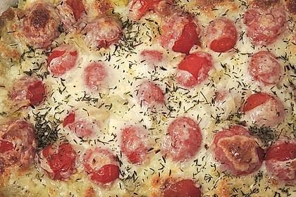 Tomaten - Mozzarella - Auflauf 12