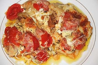 Tomaten - Mozzarella - Auflauf 9