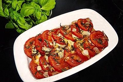 Tomaten - Mozzarella - Auflauf 2
