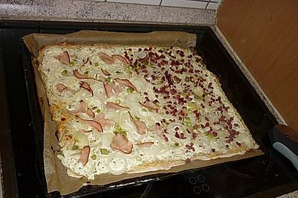 Flammkuchen mit Quark 6