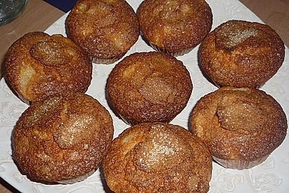 Birnen - Ingwer Muffins