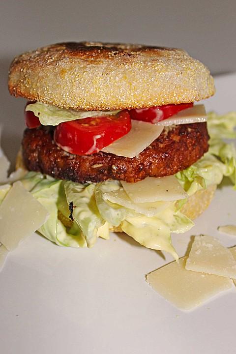 Caesar-Salad-Burger (Rezept mit Bild) von Kassiopeia259860 | Chefkoch ...