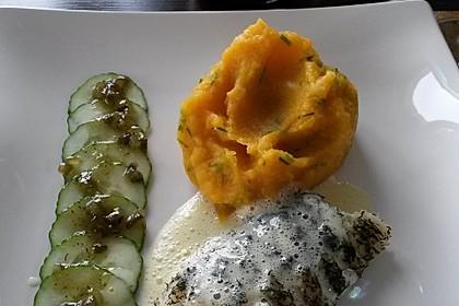 Delicata/Butternut-Kürbis-Sellerie-Püree 5