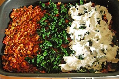 Hähnchen-Gemüse-Lasagne 1