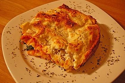 Hähnchen-Gemüse-Lasagne