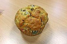 Linsen-Knoblauch Muffins
