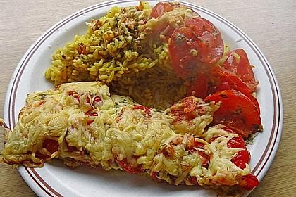 Fisch in Senf aus dem Ofen