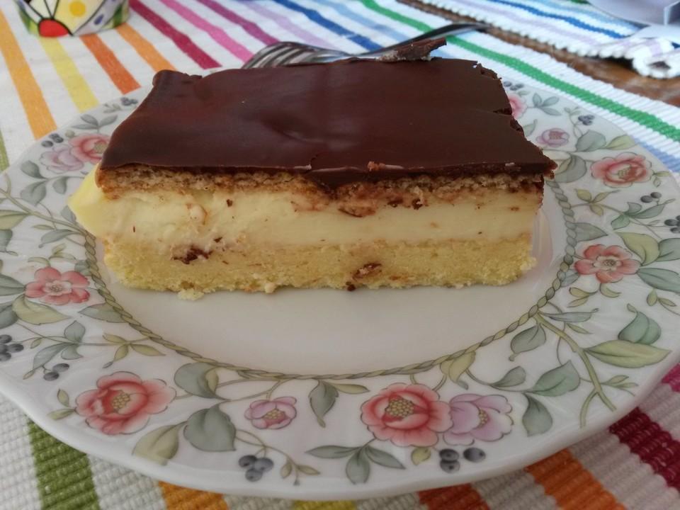 Pudding kuchen glasur
