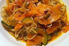 Shirataki-Gemüsepfanne