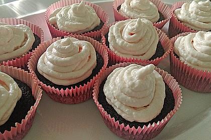 Kokos-Schokocupcakes