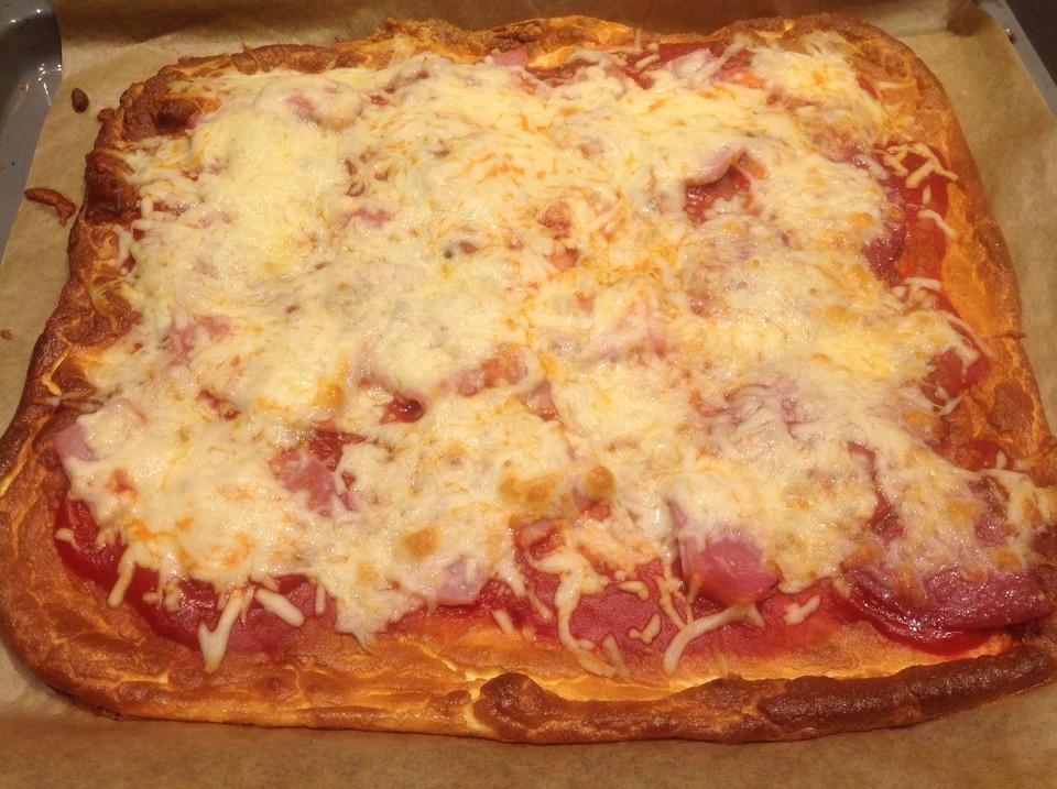 low carb pizza aus einem ei quark teig von lacy87
