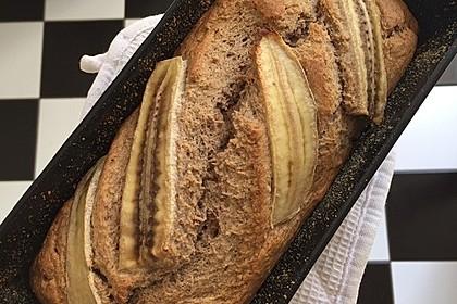Bananenbrot ohne extra Fett und Zucker 2