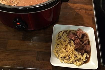 Wiener Majoranfleisch für den Crock Pot 1