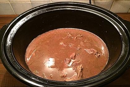 Wiener Majoranfleisch für den Crock Pot
