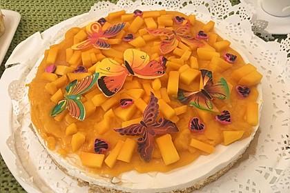 """Philadelphia-Torte """"Mango Kokos"""" 1"""