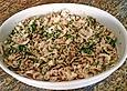 Pilzsalat mit Schafskäse à la Toskana