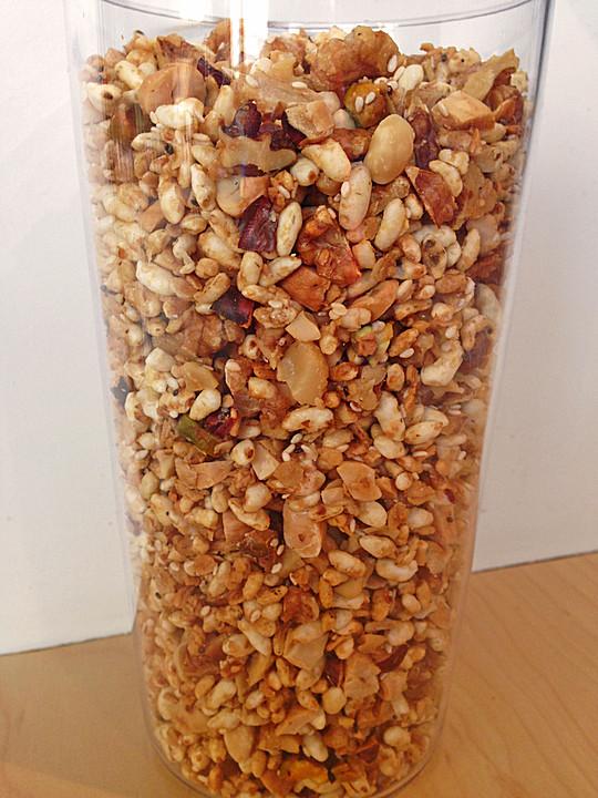 granola m sli rezept mit bild von leo14. Black Bedroom Furniture Sets. Home Design Ideas