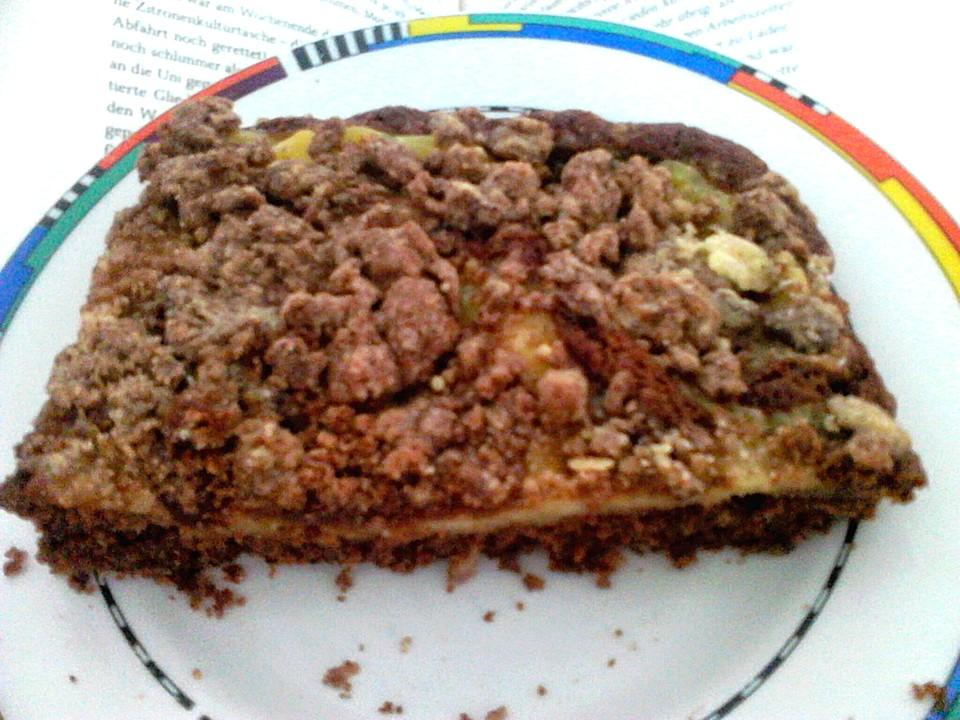 Preußischer Schwarz-Weiß-Kuchen mit Streuseln (Rezept mit ...