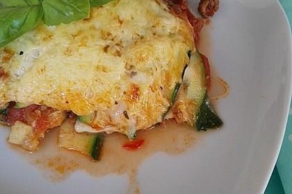 Zucchini-Lasagne mit Hackfleisch 6