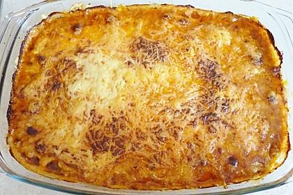 Zucchini-Lasagne mit Hackfleisch 3