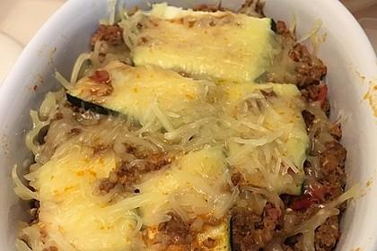 Zucchini-Lasagne mit Hackfleisch 7