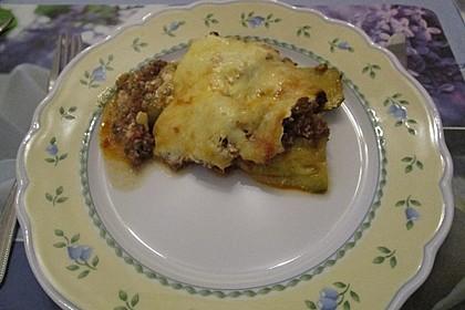 Zucchini-Lasagne mit Hackfleisch 10