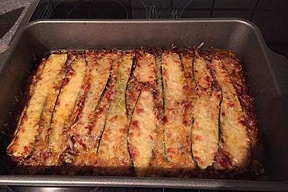 Zucchini-Lasagne mit Hackfleisch 5