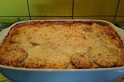 Zucchini-Lasagne mit Hackfleisch 1