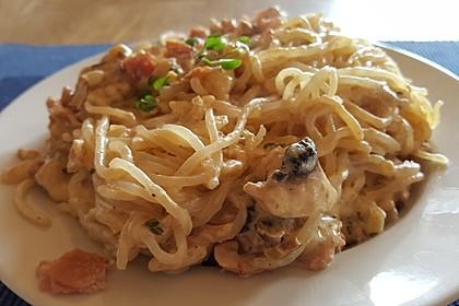 Shirataki nach Spaghetti Carbonara Art 1