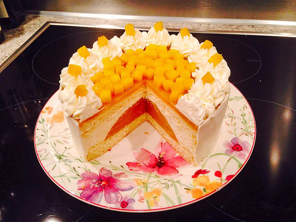 wei e mousse au chocolat torte mit mango und zitrone rezept mit bild. Black Bedroom Furniture Sets. Home Design Ideas