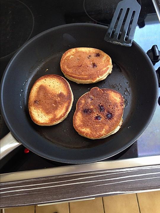 protein pancakes mit himbeeren rezept mit bild von turk3. Black Bedroom Furniture Sets. Home Design Ideas