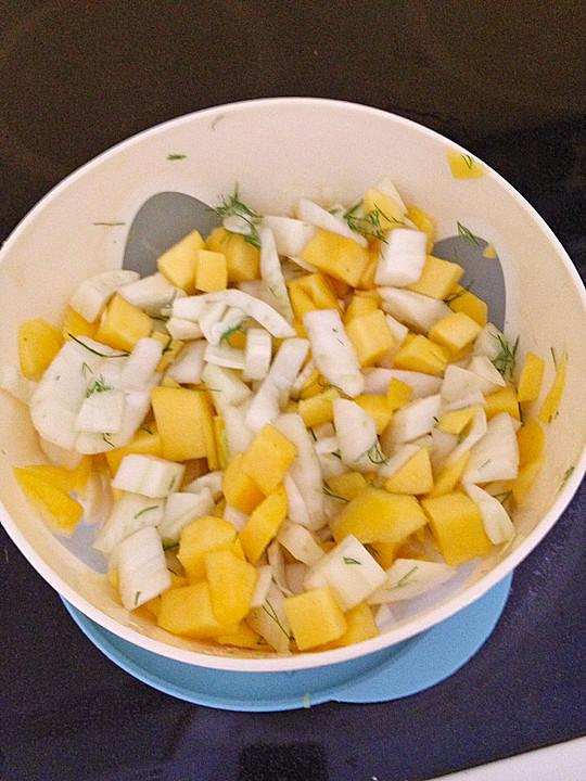 fenchel mango salat rezept mit bild von lylemi. Black Bedroom Furniture Sets. Home Design Ideas
