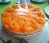 Frischkäsetorte Mandarine, ohne Backen