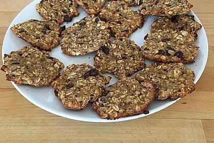 Gesunde Kekse aus Haferflocken 9