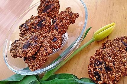 Gesunde Kekse aus Haferflocken 2