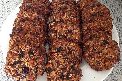 Gesunde Kekse aus Haferflocken 3