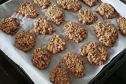 Gesunde Kekse aus Haferflocken 6